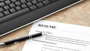 The advantages of having a well written resume